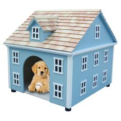 every pup deserves a house as fancy as this!!