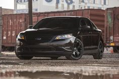 With 550 horsepower and 600 lb-ft of torque, Curtis Hayley's 2011 Taurus SHO might be the ultimate sleeper. Ford Taurus Sho, Bone Stock, Mercury Cars, Ford Parts, Big Daddy, Vintage Bikes, Ford Mustang, Cool Cars, Super Cars