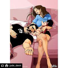 #Repost @jude_devir • • • • • • Mommy for everyone!😴😊❤ Shop: www.yehudadevir.com  Support us: www.patreon.com/yehudadevir  #judedevir #mayadevir #arieldevir #oneofthosedays #ilovemydaughter #ilovemywife Yehuda Devir, Relationship Comics, Life Comics, Cute Couple Cartoon, Becoming A Father, Maya, Baby Ariel, First Time Parents, One Of Those Days