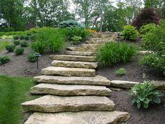 stone garden steps | Landscape & Maintenance | Cincinnati Landscape and Maintenance