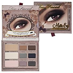 Too Faced Matte Eyeshadow Collection
