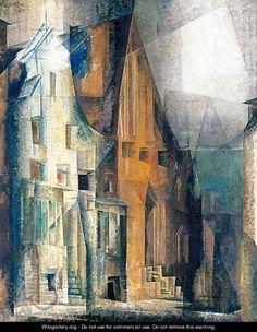 Gables III (Luneburg II) - Lyonel Feininger