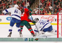 #mnwild wins 2-1 over the #tblightning! Kuemper makes 34 saves.