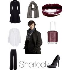 Sherlock Holmes Inspired Outfit