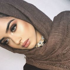 48 Gorgeous Makeup Tutorials For Brown Eyes - Makeup looks - Eye Makeup Eid Makeup, Hijab Makeup, Bridal Makeup, Beauty Makeup, Vogue Makeup, 2017 Makeup, Face Makeup, Make Up Looks, Makeup For Teens