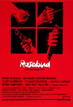 Film Posters by Saul Bass- Rosebud