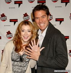 Willow and Wesley are such a cute real life couple, with kids and everything :) <3 (Alyson Hannigan and Alexis Denisof). They are in fact the cutest couple I've EVER seen - Google pictures of them and see their multiple Halloween costumes!!!!!!!!!