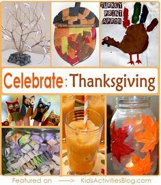 9 Thanksgiving Crafts to celebrate Thanksgiving!