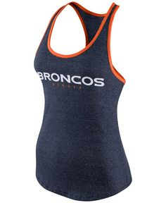 Nike Women's Denver Broncos Fan Marled Tank Top