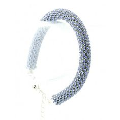PAVE CRYSTAL STONE ROPE BRACELET - all About YOU!