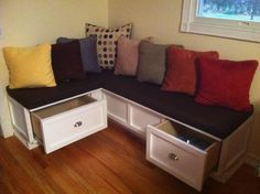 Kitchen Nook | Do It Yourself Home Projects from Ana White