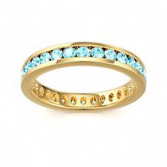 Blue Zircon Ring Moonlight. wish it was silver