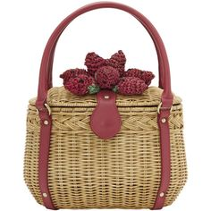 i would do just about anything for this little basket bag.