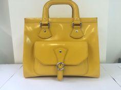Furla Fabulous Yellow Handbag in Clothes, Shoes & Accessories, Women's Handbags | eBay!