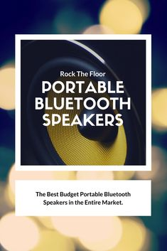 AmazonBasics Portable Bluetooth Speakers give you the bass that no other speaker does in its range. It is one of the best budget trending bluetooth speakers in the market. Best Budget, Bluetooth Speakers, Content Marketing, Bass, Budgeting, Range, Good Things, Learning, Cookers
