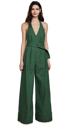 Dunacifa Women Sleeveless Dungarees Loose Cotton Linen Long Playsuit Party Jumpsuit Rompers