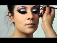Asian Bridal Makeup by Zaiba Khan - YouTube