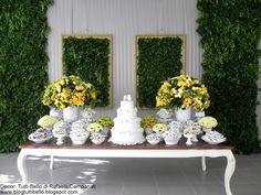 Casamento Amarelo & Branco