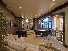 beautiful balcony area