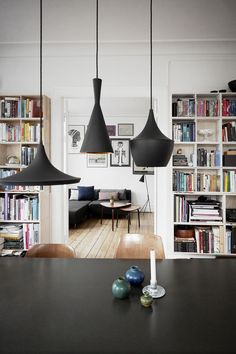 Danish home with new and old design classics - via cocolapinedesign.com