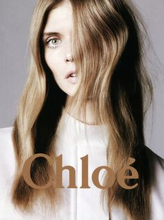 Malgosia Bela by David Sims for Chloé S/S 2011 campaign.