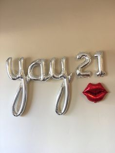 Birthday Ideas Discover YAY 21 Decoration Silver or Gold Balloons Birthday Banner Balloons birthday party decoration Party thirtieth 21 Party, Birthday Diy, Birthday Gifts, 21st Birthday Outfits, Birthday Cakes, Happy Birthday 21, 21 Birthday Quotes, Birthday Ideas, Birthday Banners