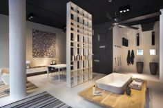 NEUTRA Flagship Store in milan - water_wellness_stone. #bathroom #spa #design