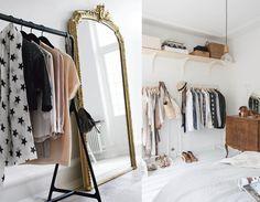 9x handige kledingopbergers Wardrobe Rack, Bedroom, Furniture, Home Decor, Interiors, Room, Bedrooms, Home Furnishings, Interior Design