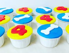 Cupcakes  Patrulha Pata Paw patrol