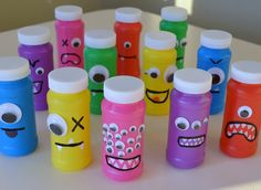 Neat Little Nest: DIY Monster Bubbles for Kids' Birthday Party (Bottle Bag Birthday Parties) Little Monster Birthday, Monster 1st Birthdays, Monster Birthday Parties, Birthday Fun, First Birthday Parties, First Birthdays, Birthday Ideas, Party Favors For Kids Birthday, Party Favours