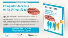 """📘Presentació del libre: """"Compartir docencia en la Universidad"""", de Fernando Hernández i Fernando Herraiz García.  🕡Dilluns, 25 de febrer a les 18:30h  📍 ABACUS - Barcelona - Còrsega, C/ Còrsega, 269 - 08008 @AbacusCoop Social Change"""