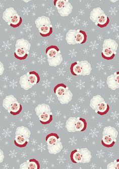 North Pole Christmas | Vintage Santa Ice Silver | Empress Mills