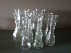 Website where people sell used wedding stuff...could come in handy for centerpiece vases and stuff