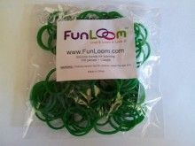 Green FunLoom Rubber Bands