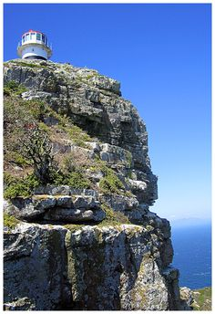 Lighthouse - Cape Town, Western Cape So Africa by Izabela Fedyszyn Light Of The World, Light In The Dark, Kruger National Park, National Parks, Oh The Places You'll Go, Places To Visit, African Holidays, Out Of Africa, Most Beautiful Cities