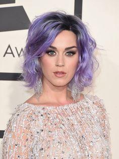 Cabelo colorido - Katy Perry