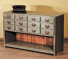 farmhouse furniture- heaps of handy draws for all those annoying little things that just don't have a home!