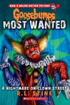 The infamous, Most Wanted Goosebumps characters are out on the loose and they're coming after you! Catch them all, undead or alive! The circus itself is very cool. The clowns stay in their makeup all day and only go by their clown names. Ray becomes a clown-in-training named Mr. Belly-Bounce. But the longer he's there, the scarier things become. Will Ray be able to survive the dark secrets of the circus?
