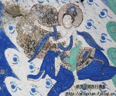 克孜爾千佛洞17窟 釋迦佛本生壁畫騎象菩薩
