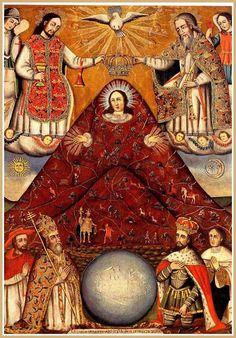 Vierge de la Montagne, Potosi
