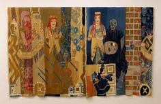 """The Human Pattern"" Hannah Ryggen"