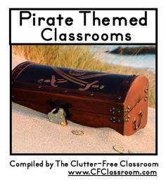 Pirate Themed Classrooms {decor ideas, printables, tips, photos, and more}