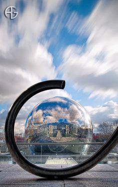 Géode, Parc de la Villette, Paris, France