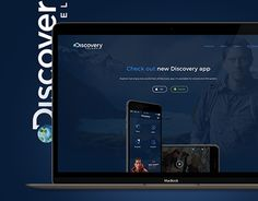 """Check out new work on my @Behance portfolio: """"Discovery Channel - app and website concept"""" http://be.net/gallery/35962895/Discovery-Channel-app-and-website-concept"""