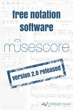 MuseScore free music notation software