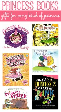This #RaiseaReader blog has 8 #princess books that don't make princesses seem simplistic, vapid, or only concerned with grabbing a prince! Click for the list. #kidsbooks