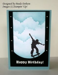 Stampin' Up! Extreme Skateboard by rosalyn