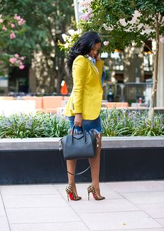 Office Outfit for Ladies Church Fashion, 60 Fashion, Black Women Fashion, Blazer Fashion, Work Fashion, African Fashion, Fashion Outfits, Style Fashion, Fashion Stores