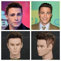 Colton Haynes Haircut & Hairstyle Tutorial