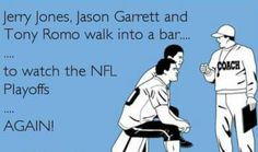 The Cowboys walk into a bar...
